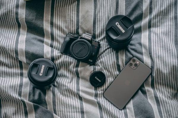 Materiale foto per fare delle foto 360°
