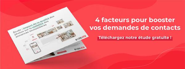4 facteurs pour booster la visibilité des annonces immobilières - étude Nodalview