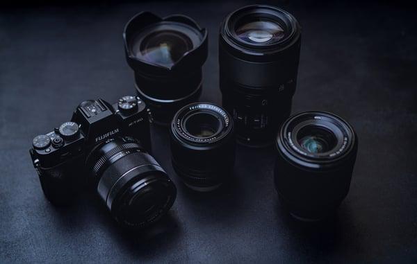 appareils pour la photo immobilière disposant d'un objectif grand angle