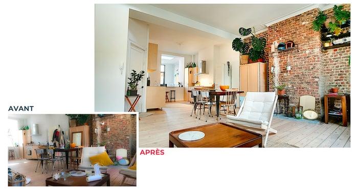 comparaison-photos-immobilières-piece-rangee-et-en-desordre