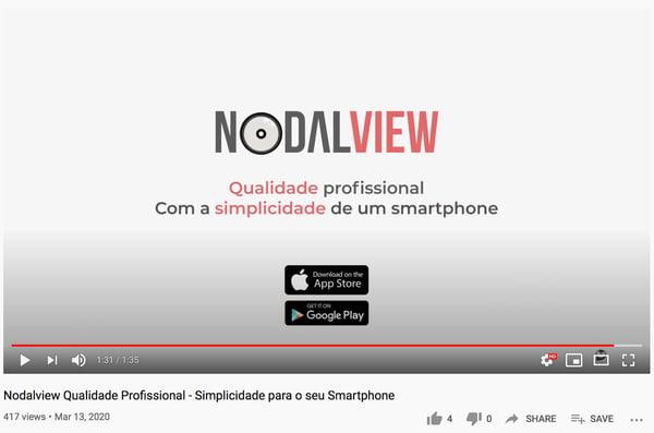 Captura de ecrã vídeo Nodalview