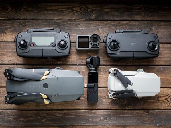 Drone immobilier Mini